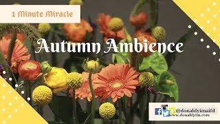 DIY | Autumn Ambience | 1 Minute Miracle |