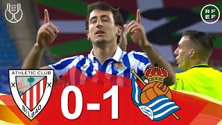 RESUMEN | Athletic Club 0-1 Real Sociedad. Final Copa de SM el Rey 2019-2020