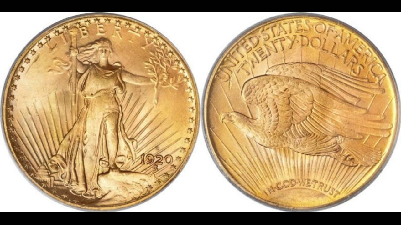 Coin Collecting: Saint-Gaudens Gold Double Eagle Video: US Mint Series -  Numismatics with Kenny