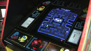 #464 Bally Midway Pacman Arcade Video Game With Beautiful Cabinet!  Tnt Amusements