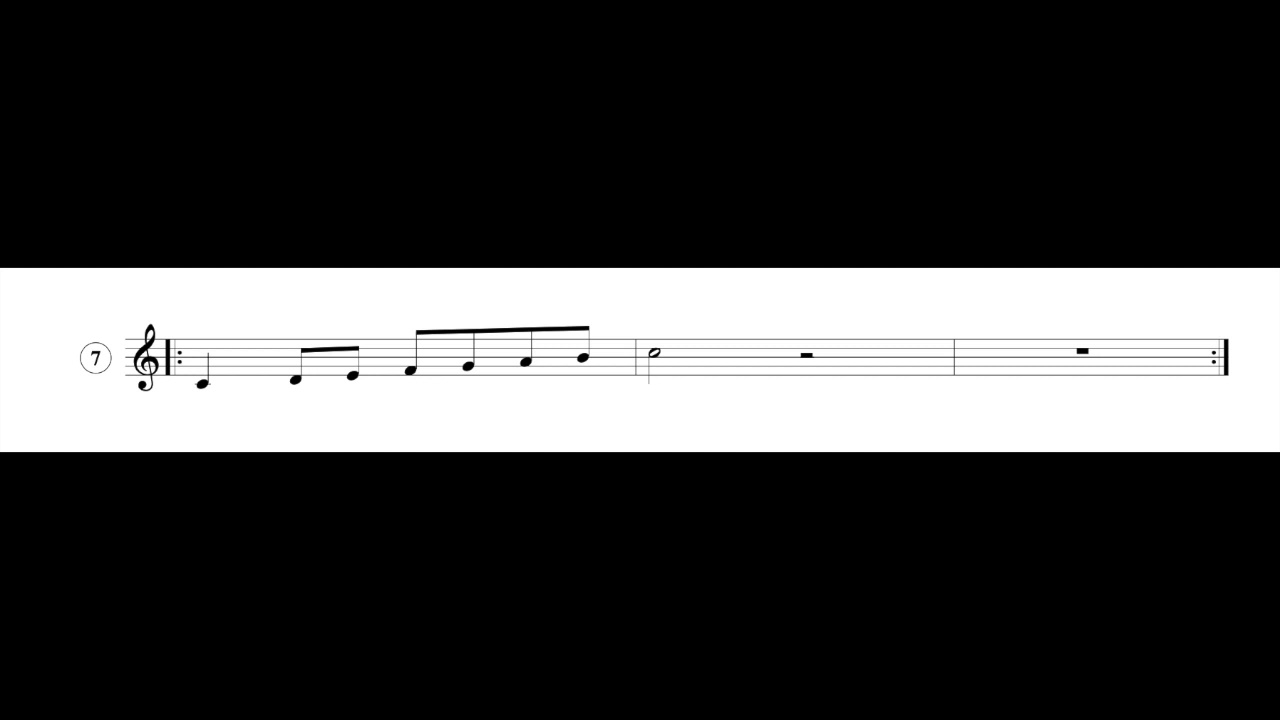 Singing Exercises: Agility Vocal Warm-Up #7 - Ascending Major Scale