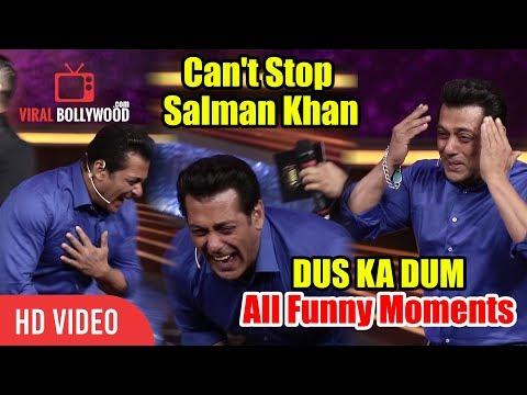Hilarious Salman Khan | Dus Ka Dum Season 3 | All Funny Moments