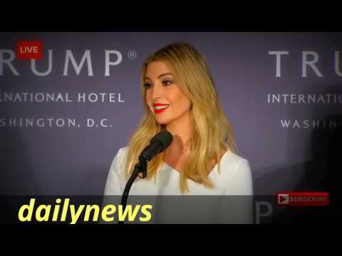 Ivanka Trump giving details of family business full interview