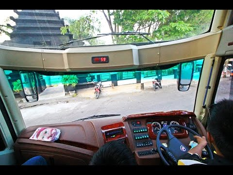 Naik Bus Matic Mewah Pandawa87 Jetbus SHD Scania K360 Opticruise