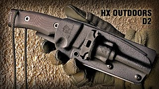 Нож Выживания HX OUTDOORS D2/Survival knife