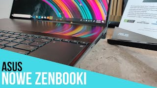 ASUS ZenBook Pro Duo robi wrażenie! Oto wszystkie nowe ZenBooki