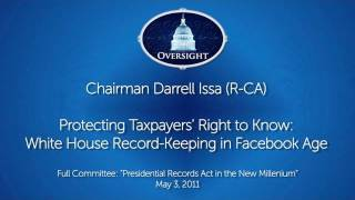 Issa: Protecting Taxpayers