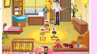 Играть в игру — уход за детьми часть 2