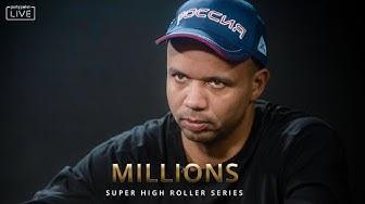 HIGHLIGHTS $25K NLH SHR #2 | MILLIONS Super High Roller Sochi 2020