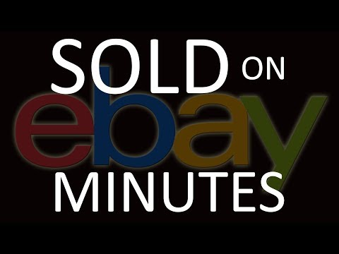 EBAY ITEMS THAT SOLD WITHIN MINUTES