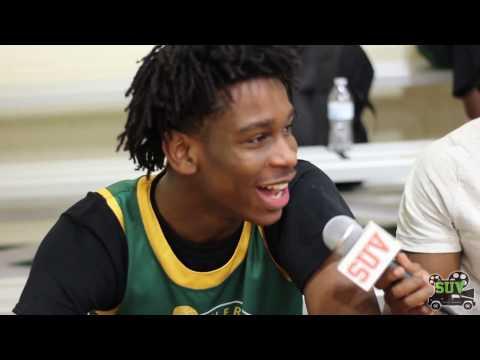 Shai Gilgeous-Alexander and Nickeil Alexander-Walker Interview: Allen Iverson Roundball Classic