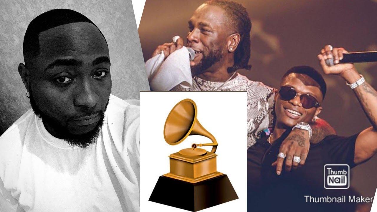 Burna boy & Wizkid Nominated For Grammy Awards ~ Davido Mocked
