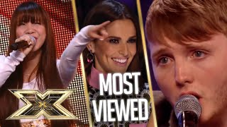 MOST VIEWED X Factor auditions of ALL TIME! | The X Factor