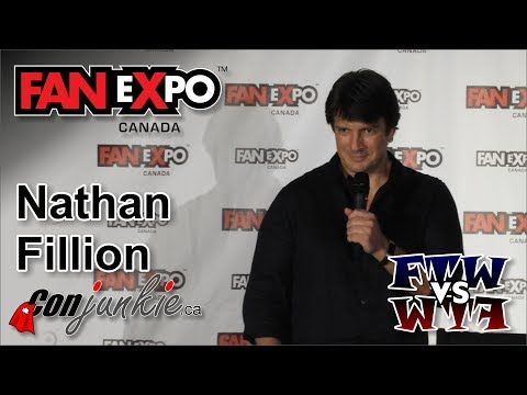 Nathan Fillion Firefly, Castle   eXpo Canada 2017  Panel