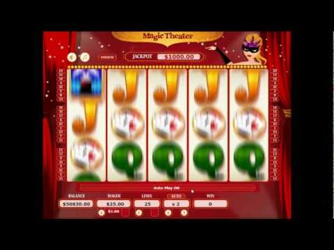 Slot Machine Software - Magic Theater - ProWagerSystems.com