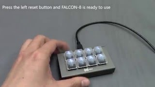 MAX Keyboard FALCON-8 Macropad V2 Programming Tutorial
