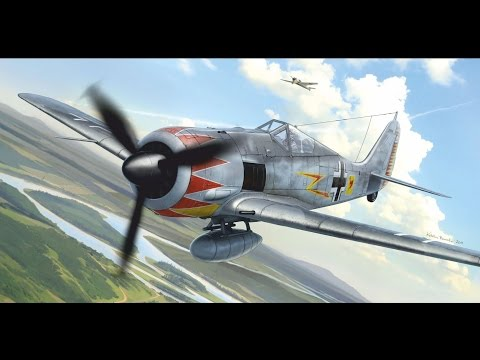 FULL VIDEO BUILD EDUARD Fw-190A5 1/72 scale