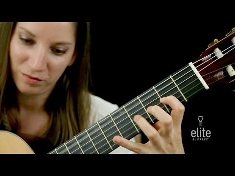 Pachebel Canon in D Tutorial for Classical Guitar - EliteGuitarist.com Performance Preview