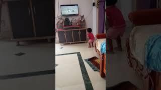 Child enjoying hunting animal planet channel