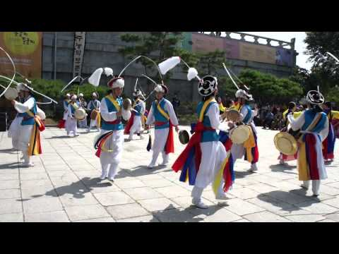 """Pungmul""  was performed at The National Folk Museum of Korea on September 13th! part 3"