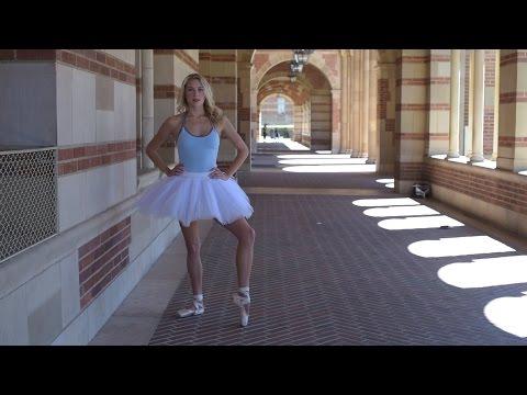 A ballerina with an 'attitude'