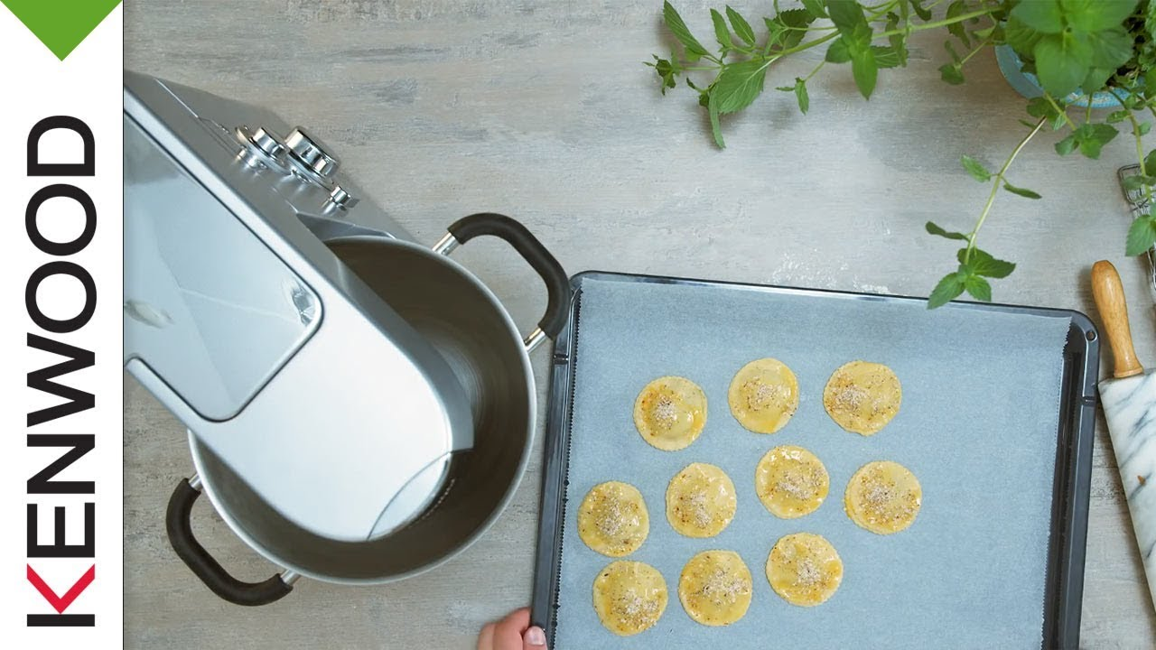 Plätzchen mit Nuss-Nougat-Creme | Rezept Kenwood Cooking Chef - YouTube