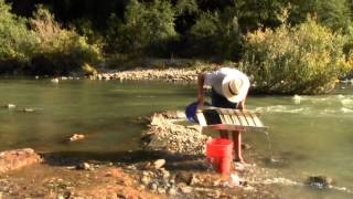 How To Find Gold #6 - How to Sluice For Gold