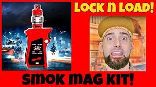 A Pistol Grip Vape MOD?! The SMOK MAG Kit!