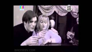 Борис Моисеев и Николай Трубач - Голубая луна [100 лучших клипов 90-х на МУЗ-ТВ]
