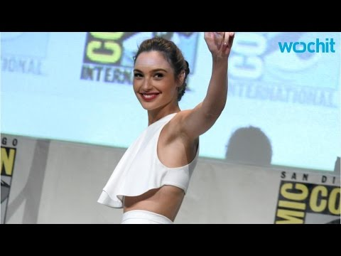 154952187c19 Wonder Woman Gal Gadot Strips Down to a Bra and Underwear - YouTube