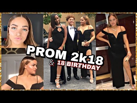 18TH BIRTHDAY + SENIOR PROM VLOG