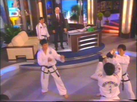 Taekwon-do ITF demonstration with Master Kim Ung Chol Slavishow