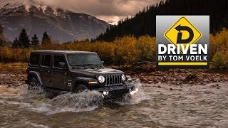 2018 Jeep Wrangler JL Full On and Off-Road Review