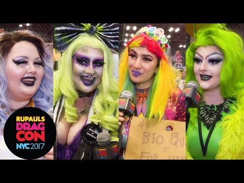 Bio-Queens!? The Art of Drag @ RuPaul's DragCon NYC ft. Manila Luzon