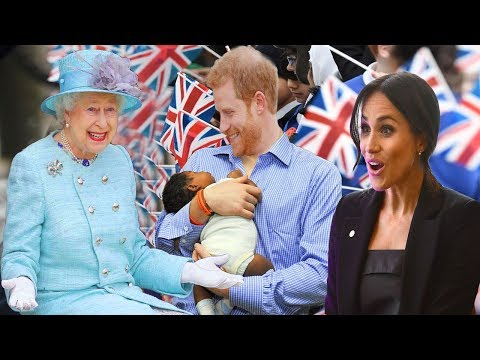 Good news from the Royal Family: Queen Elizabeth will name the baby of Prince Harry and Meghan