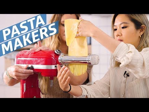 Which KitchenAid Pasta Attachment Is the Best? — The Kitchen Gadget Test Show