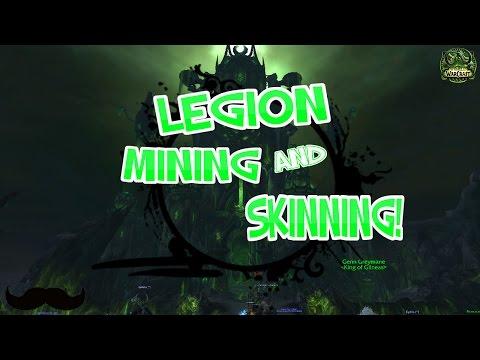WoW Legion : Mining & Skinning Farm Spot! 7.2 Major Gold Making Chance! - Legion 7.1.5