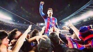 Messi MAD Celebration for Sergi Roberto Goal vs PSG [ Barcelona 6-1 PSG ] | #PASSION