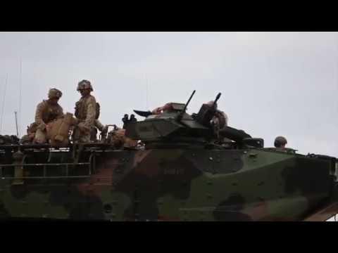 Marines Conduct Amphibious Assault Training