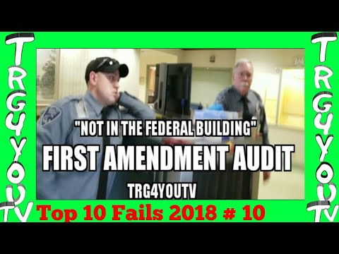 """First Amendment Audit Augusta Federal Building """"not in the federal building"""" TRY AND STOP ME!"""