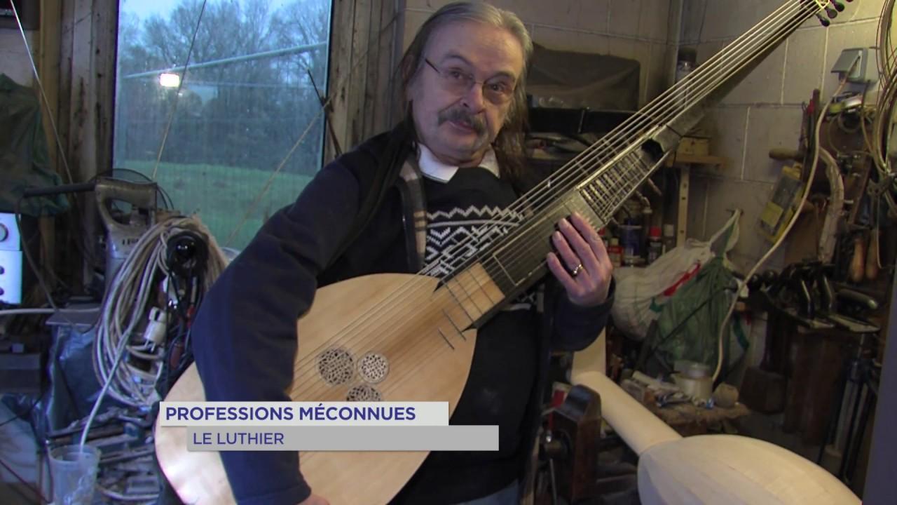 Professions méconnues : Luthier