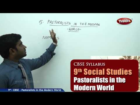 Pastoralists in the Modern World | Class 9th Social Studies | NCERT | CBSE Syllabus | Live Videos