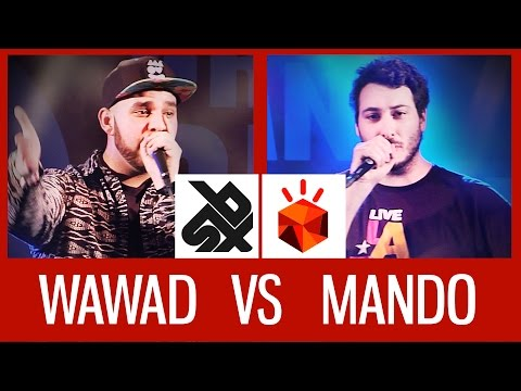 WAWAD (FRA) vs MANDO (GER) | Grand Beatbox LOOPSTATION Battle '15 | 1/2 Final