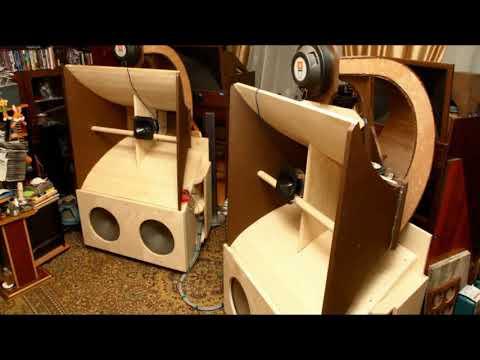 Рупорные сабвуферы и акустические системы
