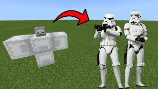 How To Spawn Stormtroopers in Minecraft Pocket Edition
