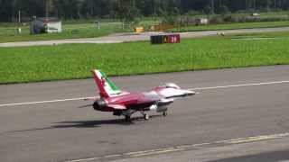 F-16 ADF Fighting Falcon Team Italy JET WORLD MASTERS SWITZERLAND 2013