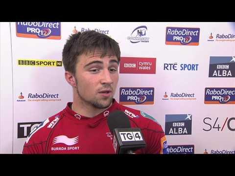 Jordan Williams - Man of the Match IV (Scarlets V Connacht in RaboDirect PRO12 15/9/12)