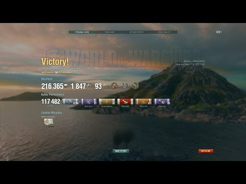World of Warships - Cleveland - This island, it has to be love