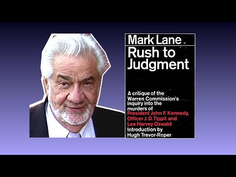 "Mark Lane ""Rush To Judgement"" video ""Executive Action"" film Night Fright"