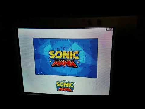 Sonic Mania's Intro on Genesis Hardware!
